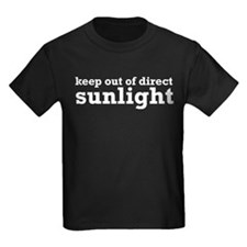 Keep Out Of Direct Sunlight Geek T