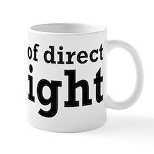 Keep Out Of Direct Sunlight Geek Mug