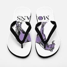 Morgan Horse Flip Flops