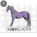 Morgan horse Puzzles