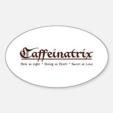 Caffeinatrix Oval Decal