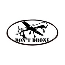 Dont Drone Me Bro Patches