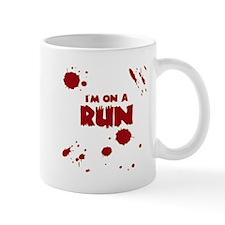 I'm on a run Mug