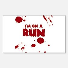 I'm on a run Decal