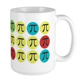 Colorful pi Drinkware