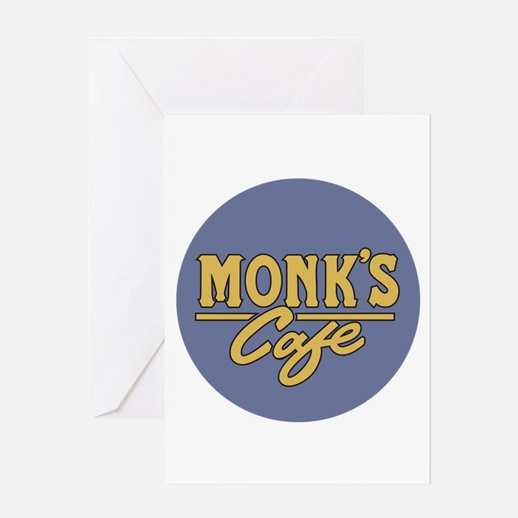 Monks Cafe - as seen on Seinfeld Greeting Cards