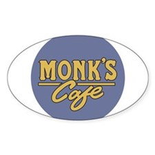 Monks Cafe - as seen on Seinfeld Decal