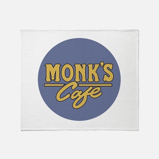 Funny Monk Throw Blanket