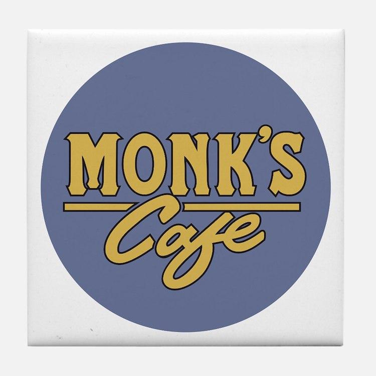 Cute Monks Tile Coaster