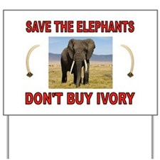 ELEPHANTS Yard Sign