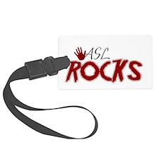 ASL Rocks Luggage Tag