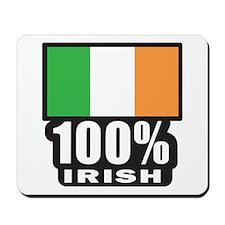 100% Irish/St. Patrick's Day Mousepad