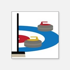 Curling Sticker