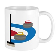 Curling Small Mug