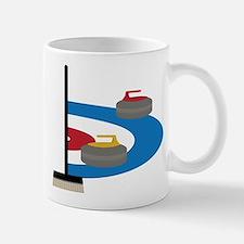Curling Small Small Mug