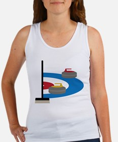 Curling Tank Top