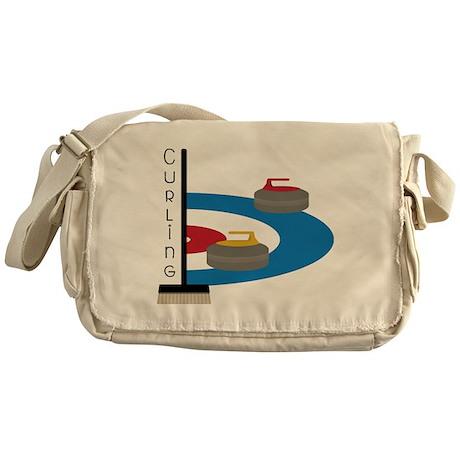 Curling Field Messenger Bag