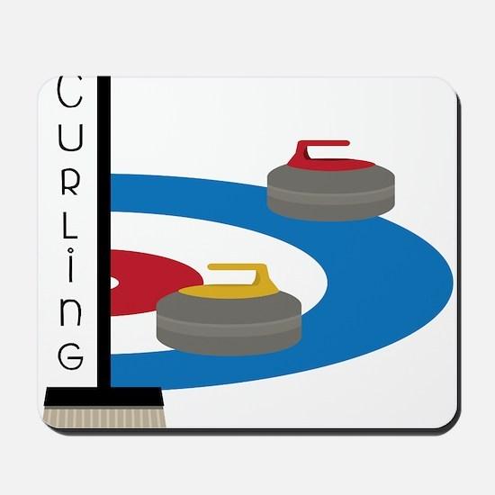 Curling Field Mousepad