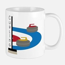 Curling Field Small Small Mug