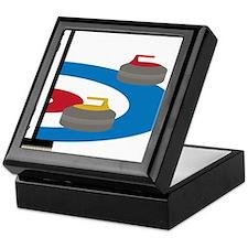 Curling Field Keepsake Box