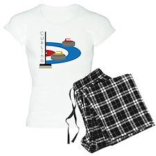 Curling Field Pajamas