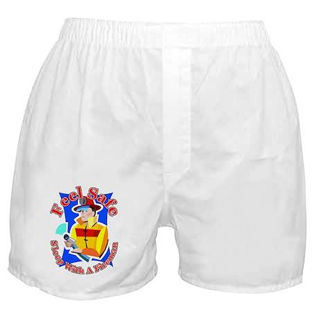 Feel Safe Sleep With A Firema Boxer Shorts