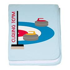 Curling Team baby blanket