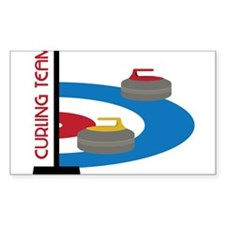 Curling Team Decal