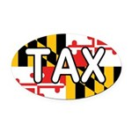 Maryland Tax Oval Car Magnet