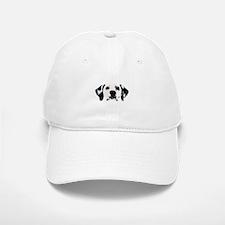 Dalmatian Face Baseball Baseball Cap