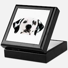 Dalmatian Face Keepsake Box