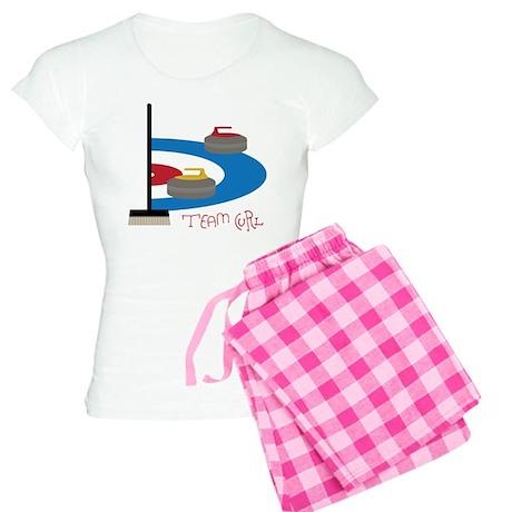 Team Curl Pajamas