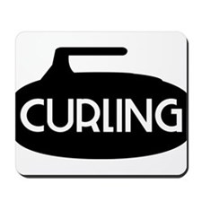 Curling Stone Mousepad