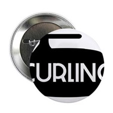 """Curling Stone 2.25"""" Button"""