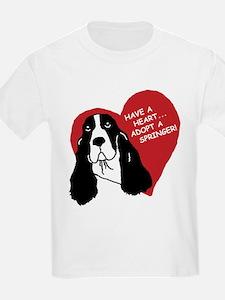 Have a Heart w/URL Kids T-Shirt