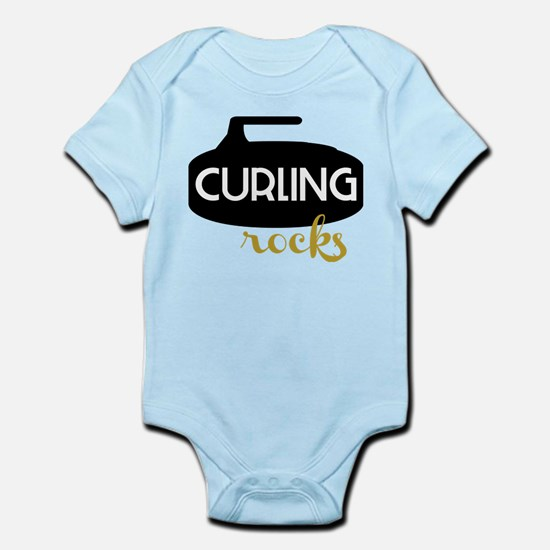 Curling Rocks Body Suit