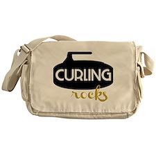 Curling Rocks Messenger Bag