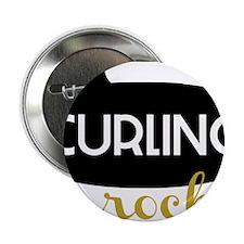 "Curling Rocks 2.25"" Button"