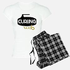 Curling Rocks Pajamas
