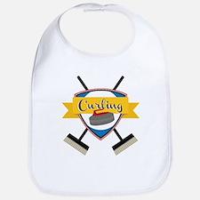 Curling Logo Bib