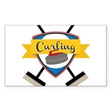 Curling Logo Decal