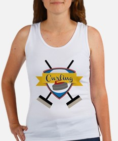 Curling Logo Tank Top