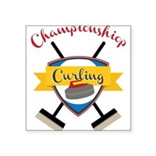 Championship Curling Sticker