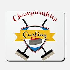 Championship Curling Mousepad