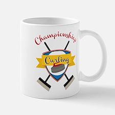 Championship Curling Small Small Mug