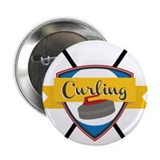 """Championship Curling 2.25"""" Button"""
