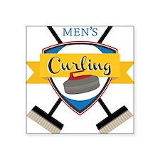 Men's Curling Sticker