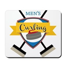 Men's Curling Mousepad
