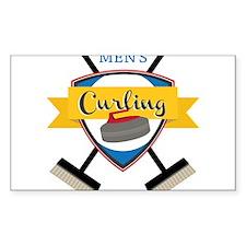 Men's Curling Decal