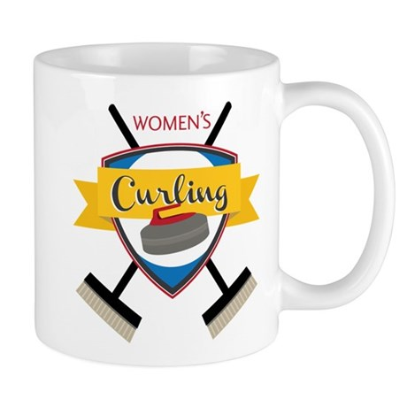 Women's Curling Mug